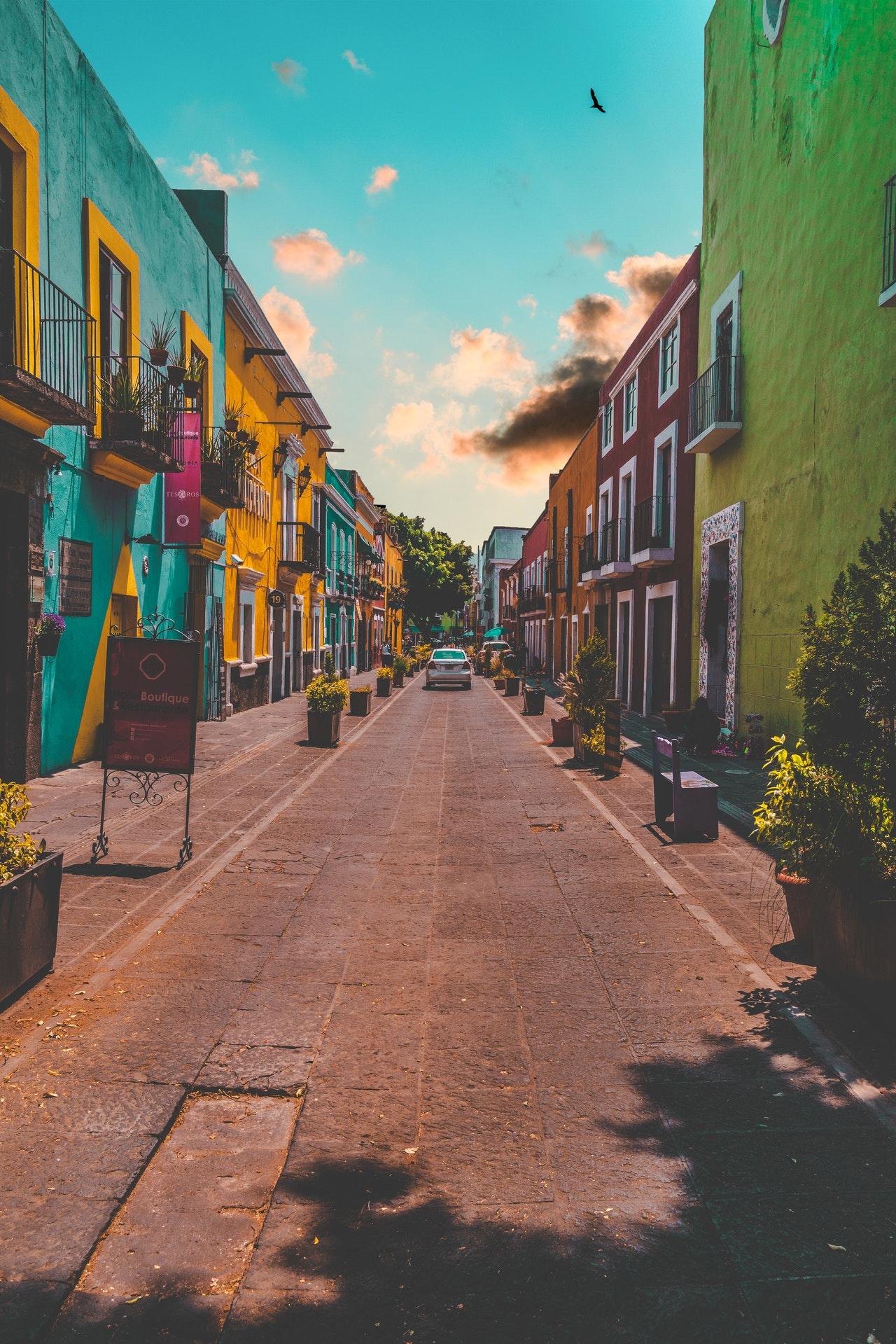 ulica w meksyku